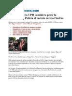 23-02-11 Presidente de la UPR considera pedir la entrada de la Policía al recinto de Río Piedras