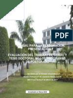 MANUAL DE TG Y TD - MARZO 2020 (Postgrado)