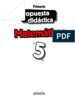 Matematicas Anaya Propuesta Didactica 5º