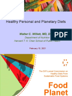 Healthy Personal and Planetary Diets