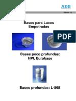 Bases Para Luces Empotradas