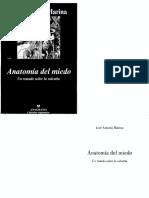 Marina, José Antonio - Anatomía Del Miedo-1