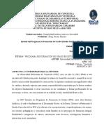 Sintesis del Libro Rojo del PFGEJ