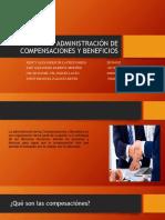 Presentacion Administración de Compensaciones y Beneficios