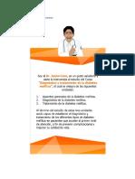 Aspectos generales de la diabetes mellitus imss