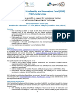 RSIF PhD Scholarship Call Guidelines En