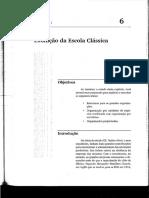 Tema 5 - Evolução Da Escola Clássica