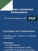 Imunidades e Comissões Parlamentares