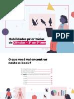 HABILIDADES PRIORITÁRIAS CIÊNCIAS - ANOS INICIAIS