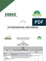 CRONOGRAMA DE MEXICO Y EL IMPERIALISMO CUARTO SEMESTRE TERCER PARCIAL