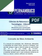 Mecanismos para a preservação e conservação do meio ambiente 2