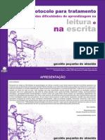 Protocolo para Tratamento das Dificuldades de Aprendizagem na Leitura e na Escrita