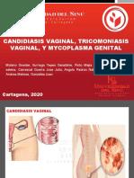 Candidiasis Vaginal, Tricomoniasis Vaginal, y Mycoplasma Genital