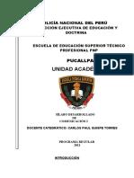 Silabo Comunicacion I-2021 Pnp