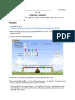 LAB- Rotational Equilibrium (DL)