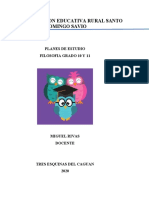 PLAN DE ESTUDIO FILOSOFIA 10 Y 11
