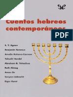 AA. VV. - Cuentos hebreos contemporaneos