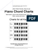 Piano Chord Charts eBook