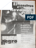 """Revista """"Blanco y Negro"""" número 1, noviembre 1996"""