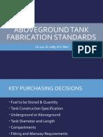 Tidy-Aboveground Fabrication Standards