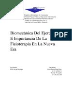 Biomecánica del ejercicio