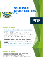 SOSIALISASI USP DAN EHB-BKS 2021 BATU SUKI