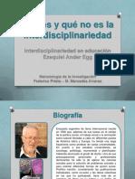 Presentacion Tema 1 Interdisciplinariedad