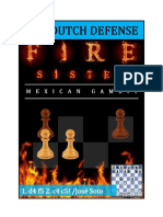 Chess Opening Dutch Mexican Gambit