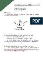 Diffraction d Electrons Lents1