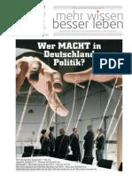 Kent Depesche - Wer MACHT in Deutschland Politik_