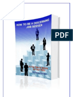 How to Be a Discerning Job Seeker EBOOK