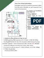 Lecture dun schéma hydraulique