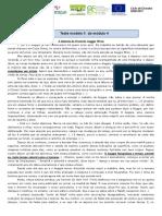 Ficha de Trabalho - análise de conto Paul Auster