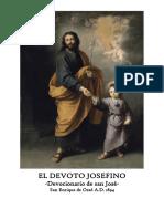 El Devoto Josefino 1894 -Devocionario de San José-. San Enrique de Ossó