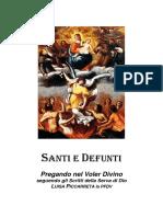 Santi e Defunti - Pregando Nel Voler Divino (A5)