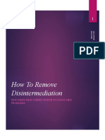 How To Remove Disintermediation