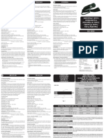 EWHS284 Instruction Sheet 9FI40002 rel.1011 GB-IT-ES-DE-FR