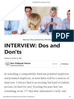 INTERVIEW_ Dos and Don'ts _ LinkedIn