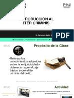 CLASE 10 INTRODUCCIÓN AL ITER CRIMINIS