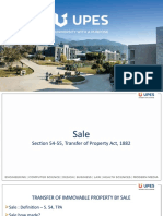 Sale of Immovable Property Tpa
