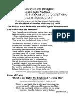 Celtic Prayer Epiphany Last B Week of Feb.14'21 David Adam