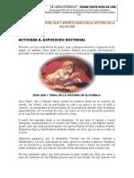 TEMA NO. 1. DIOS PADRE, HIJO Y ESPÍRITU SANTO EN LA HISTORIA DE LA SALVACIÓN