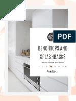 4 - BENCHTOPS AND SPLASHBACKS