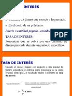 SESION 03 VALUACION ECONOMICA TASA DE INTERES NOMINAL Y EFECTIVA