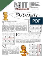 tactiques sudoku