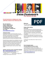 Jammers Enews 23 February 2011