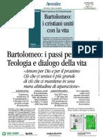 Intervista a Bartolomeo - 13.2.2021