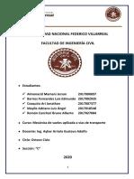 TRABAJO DE MECANICA DE SUELOS APLICADO AL TRANSPORTE