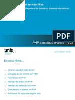 Tema 2 - PHP avanzado - Partes 1-2