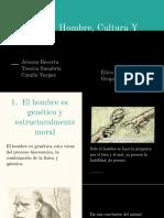 CAPITULO 5 HOMBRE, CULTURA Y ÉTICA